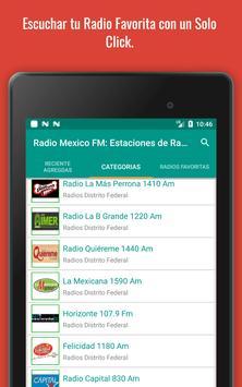 Mexican Radio Stations FM AM - Radio Mexico Online screenshot 20