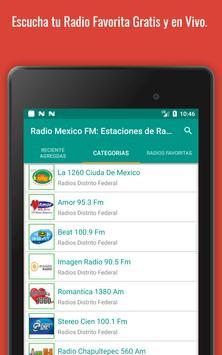 Mexican Radio Stations FM AM - Radio Mexico Online screenshot 21