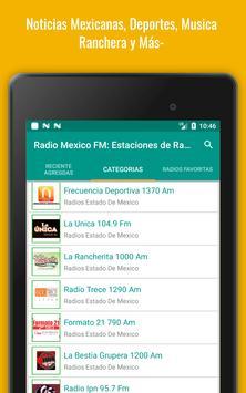 Mexican Radio Stations FM AM - Radio Mexico Online screenshot 22