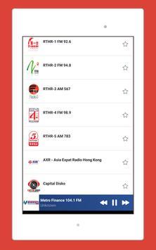 Radio Hong Kong, Hong Kong Radio Station: Radio HK screenshot 12