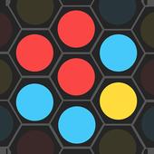 Hexa Pop Dot - color match icon