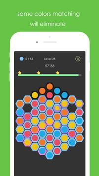 Hexa Pop Dot - color match poster