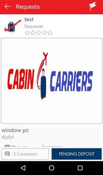 Cabin Carriers poster