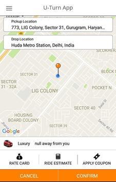 U-Turn SA Driver apk screenshot