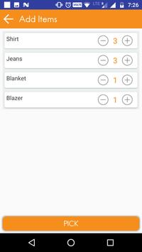 Uber for Laundry Services- Vendor apk screenshot