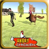 Modern Action Commando Chicken icon