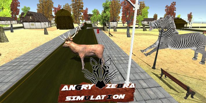 Angry Zebra City Attack apk screenshot