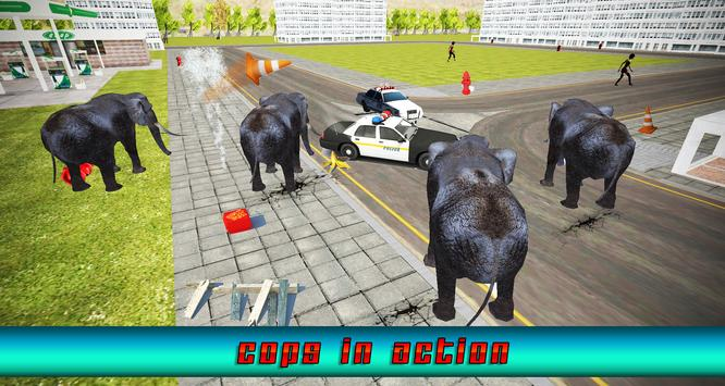 Ultimate Angry Elephant Rampag poster