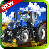 Offroad Tractor Mountain Climb icon