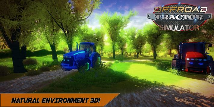 Offroad Tractor Mountain Climb screenshot 5