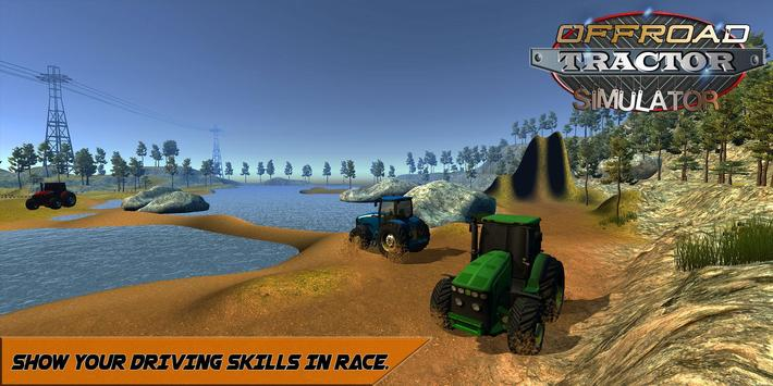 Offroad Tractor Mountain Climb screenshot 6