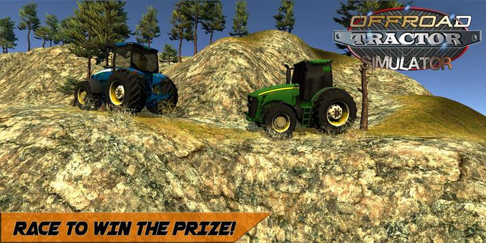 Offroad Tractor Mountain Climb screenshot 7