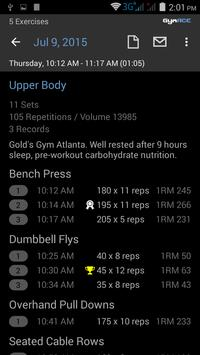 Gym ACE: Workout Tracker for Strength Training apk screenshot