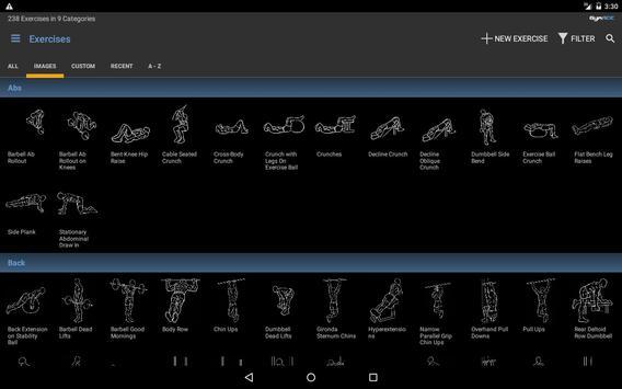 GymACE Pro: Workout Tracker & Body Log 截圖 8