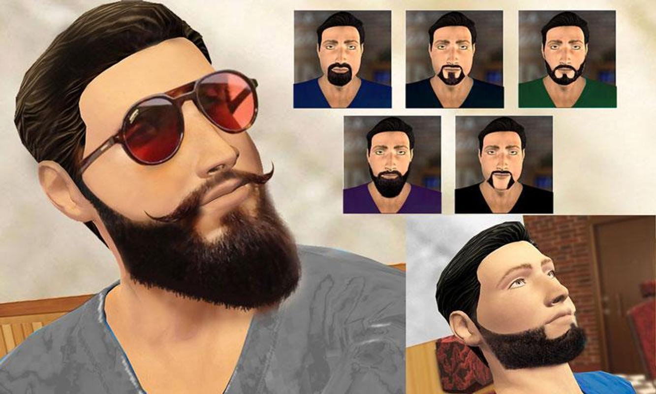 Fryzjer Wąs I Zarost Style Golenie Gra For Android Apk Download