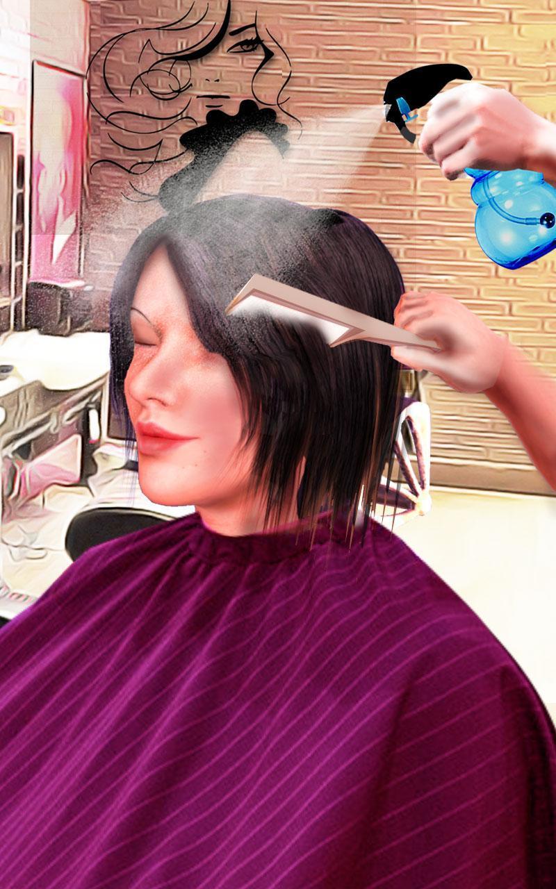 Jeux de fille coiffure couper les cheveux