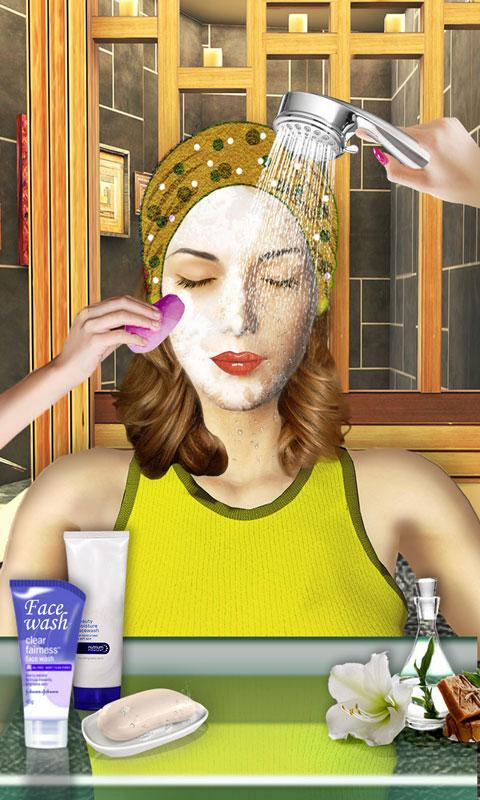 Beauty Spa Salon 3d Make Up Hair Cutting Games For Android Apk