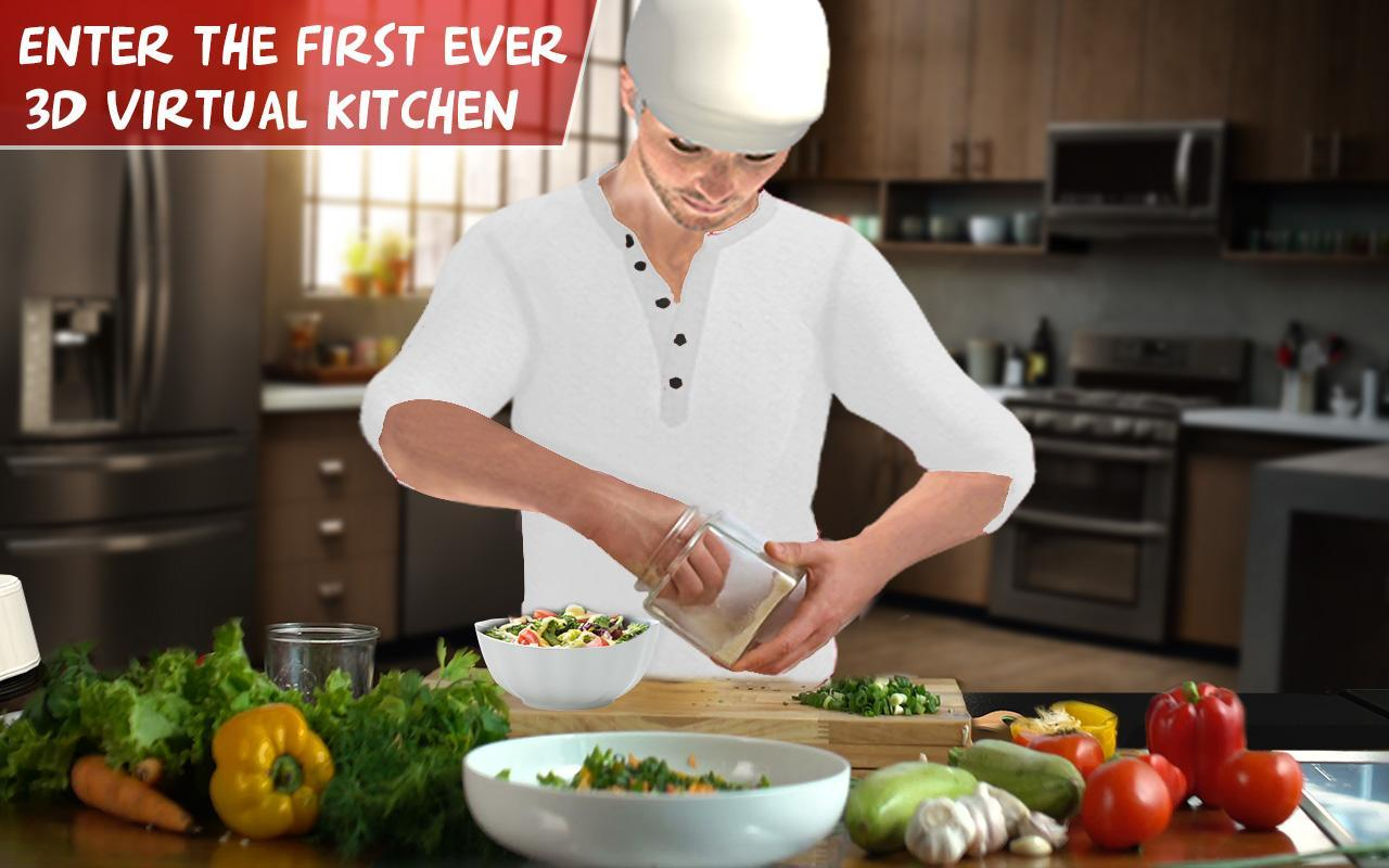 Virtual Chef Cooking Game 3D: Super Chef Kitchen for Android ...
