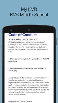 My KVR - KVR Middle School screenshot 1