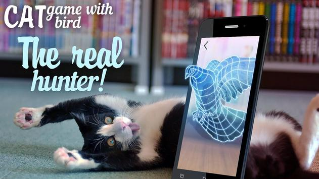 Cat: game with bird apk screenshot