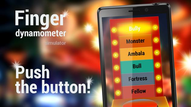 Finger dynamometer simulator apk screenshot