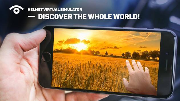 Helmet virtual simulator apk screenshot