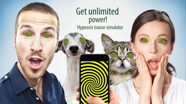 Hypnosis trance simulator poster