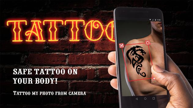 Tattoo my photo camera apk screenshot