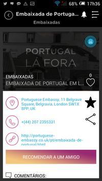 Portugal Lá Fora apk screenshot