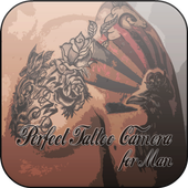 Perfect Tattoo Camera for Man icon