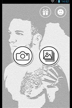 Perfect Tattoo Camera for Man poster