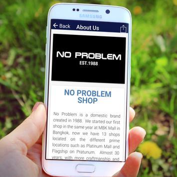 No Problem Shop apk screenshot