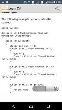Learn C# Programming screenshot 6