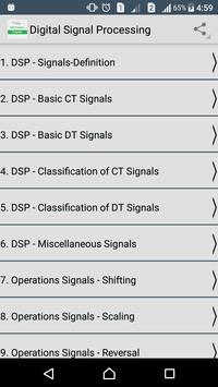 Digital Signal Processing poster