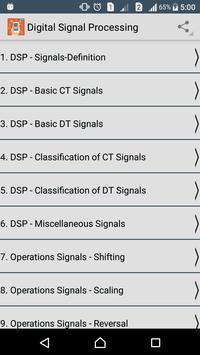 Digital Signal Processing apk screenshot
