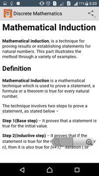 Learn Discrete Mathematics apk screenshot
