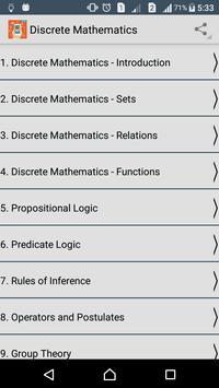 Learn Discrete Mathematics poster