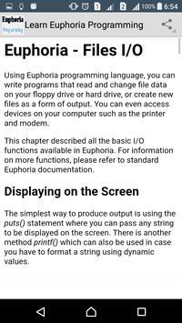 Learn Euphoria Programming screenshot 4