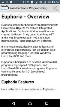 Learn Euphoria Programming screenshot 1