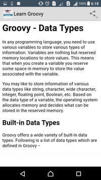 Learn Groovy Programming screenshot 2