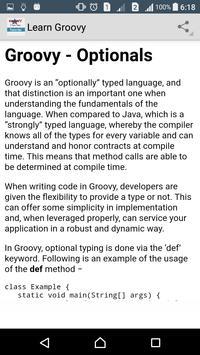 Learn Groovy Programming screenshot 4