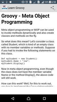 Learn Groovy Programming screenshot 6