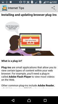 Internet Tips apk screenshot