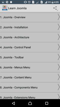 Learn Joomla poster