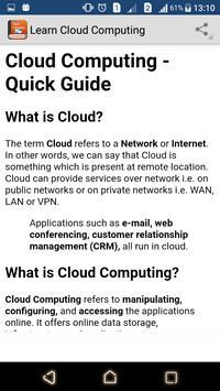 Learn Cloud Computing screenshot 7
