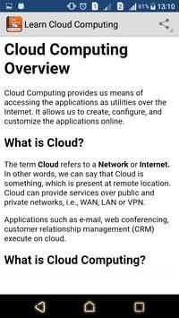 Learn Cloud Computing screenshot 1