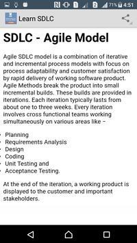 Learn SDLC apk screenshot