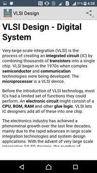 Learn VLSI Design apk screenshot