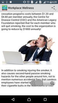 Learn Workplace Wellness screenshot 2