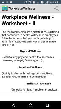 Learn Workplace Wellness screenshot 3